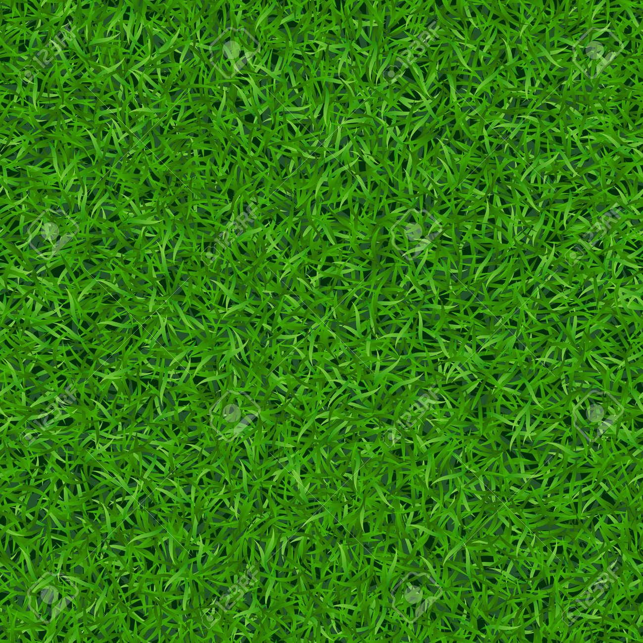 Cesped hierba verde patrón transparente. cubo césped fondo. resumen de