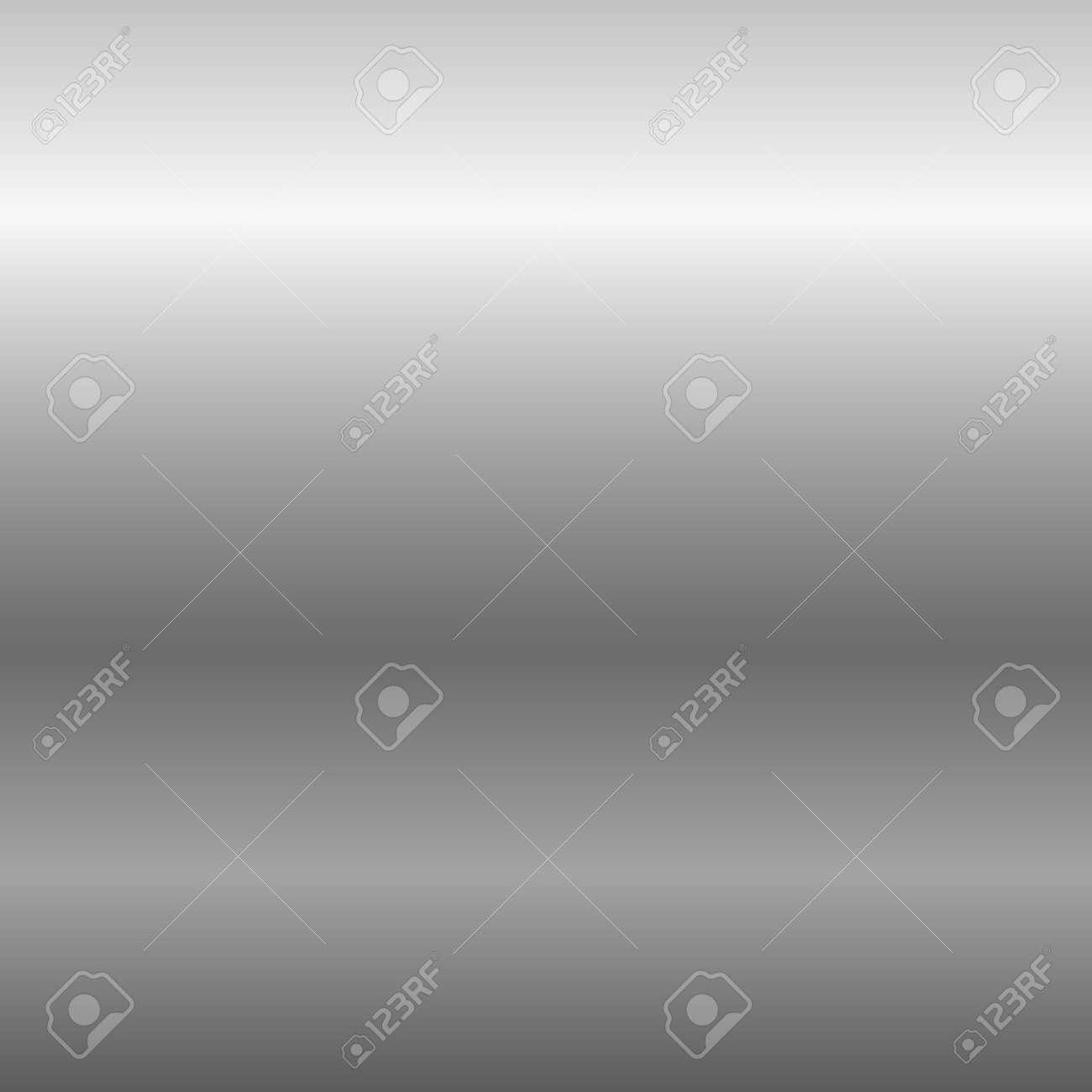 Silber Metallplatte Textur. Licht Realistisch, Glänzend, Metallisch ...