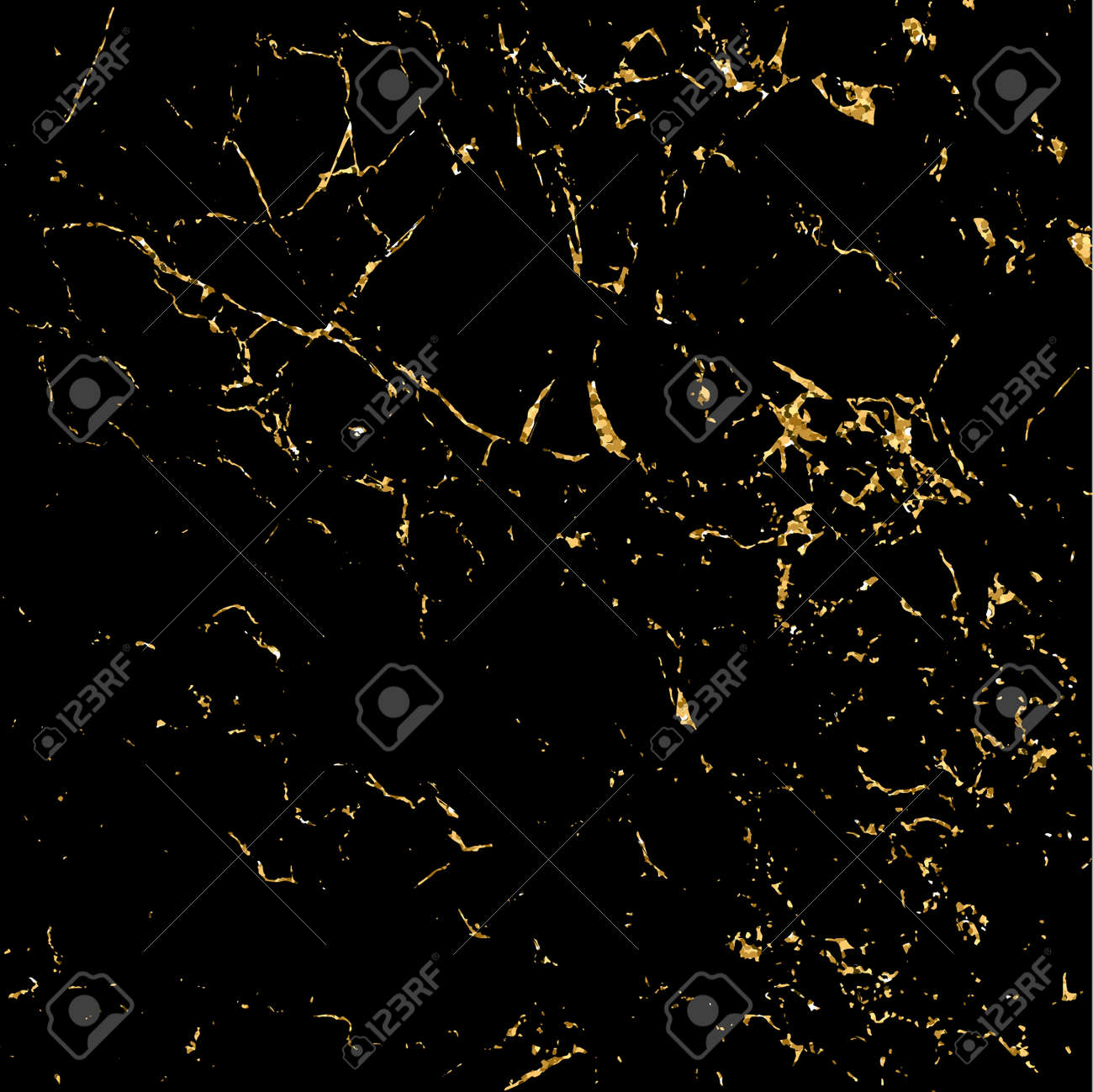 Marble gold grunge texture. Patina scratch golden elements. Sketch surface to create distressed effect. Overlay distress grain graphic design. Stylish modern background decoration. Vector illustration - 59955269