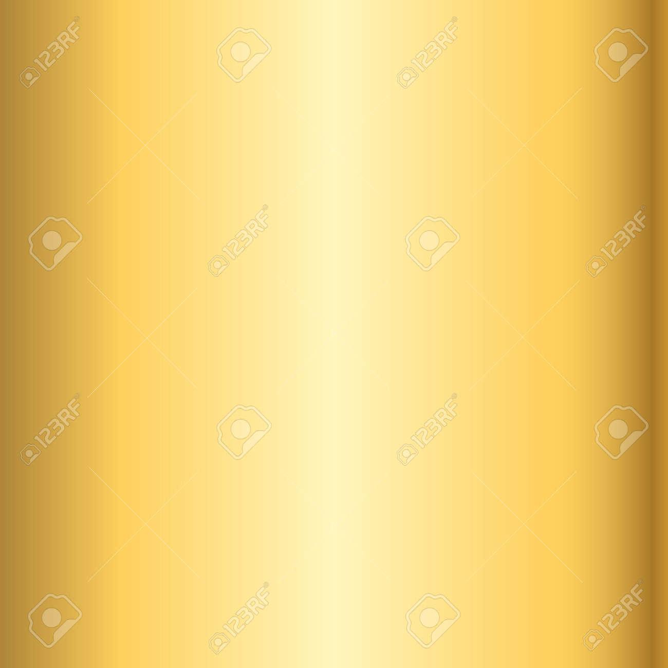Gold-Textur-Muster. Licht Realistisch, Glänzend, Metallisch Leer ...