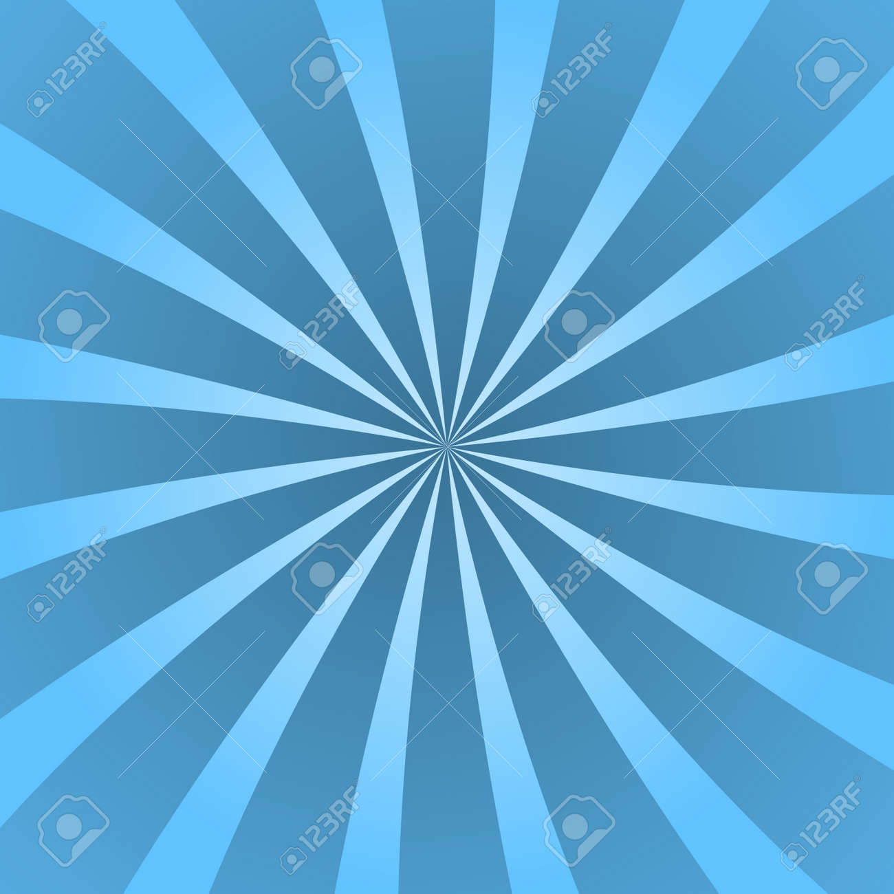 Blue Rays Poster Popular Ray Star Burst Background Television