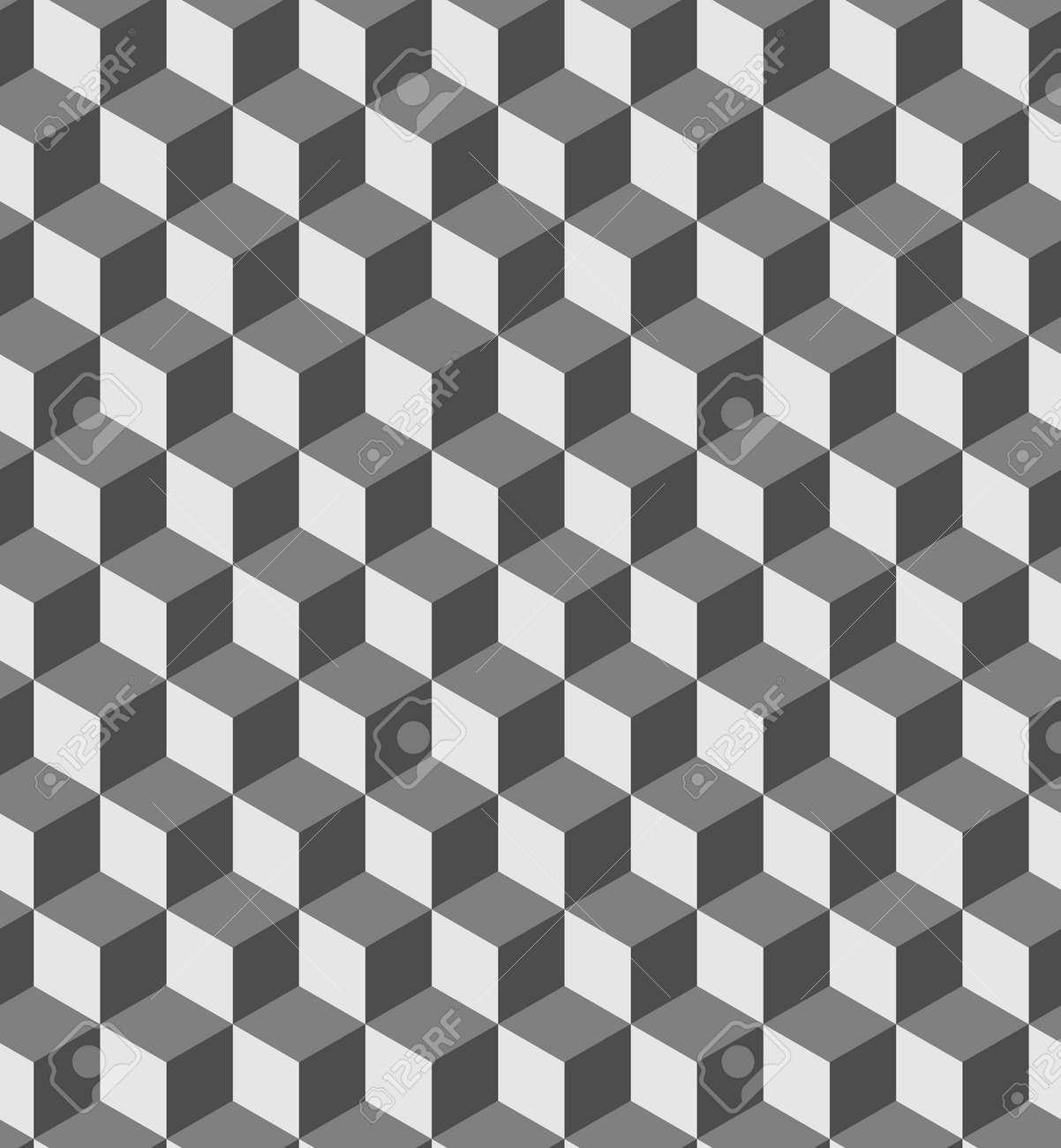 Awesome 3D Illusion Optique Cubes Autocollant Mural Décoration Murale 46114978