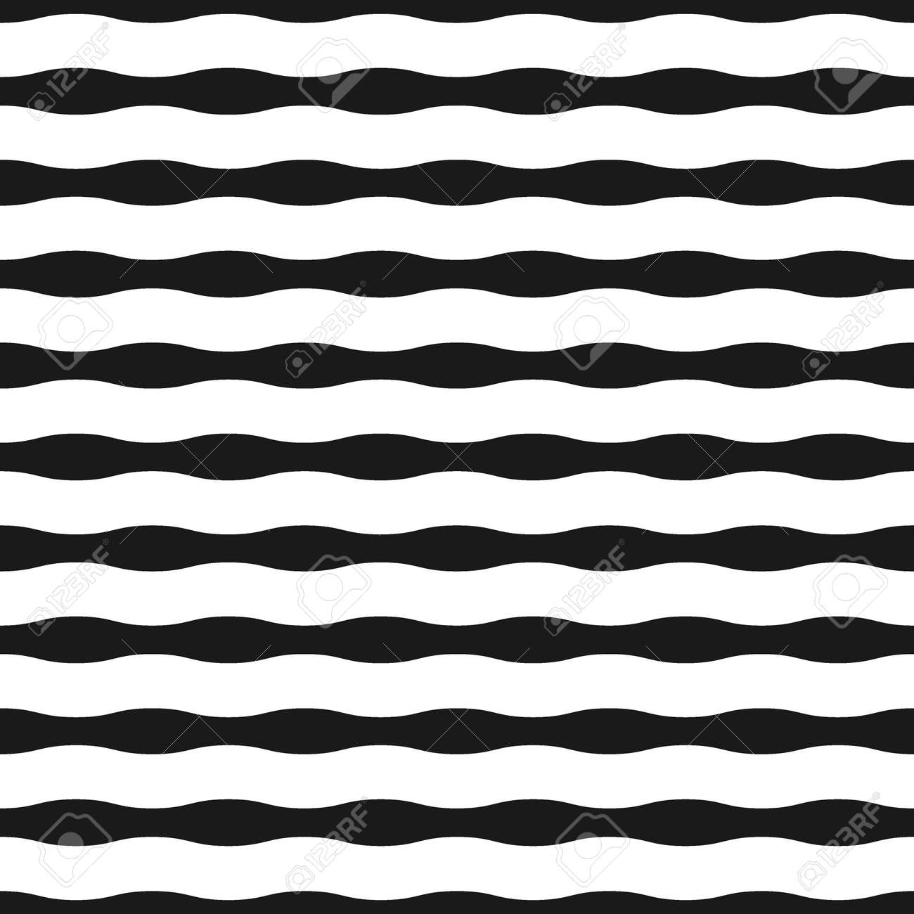 Nahtloses Muster Des Bandes. Fashion Grafik Hintergrunddesign ...