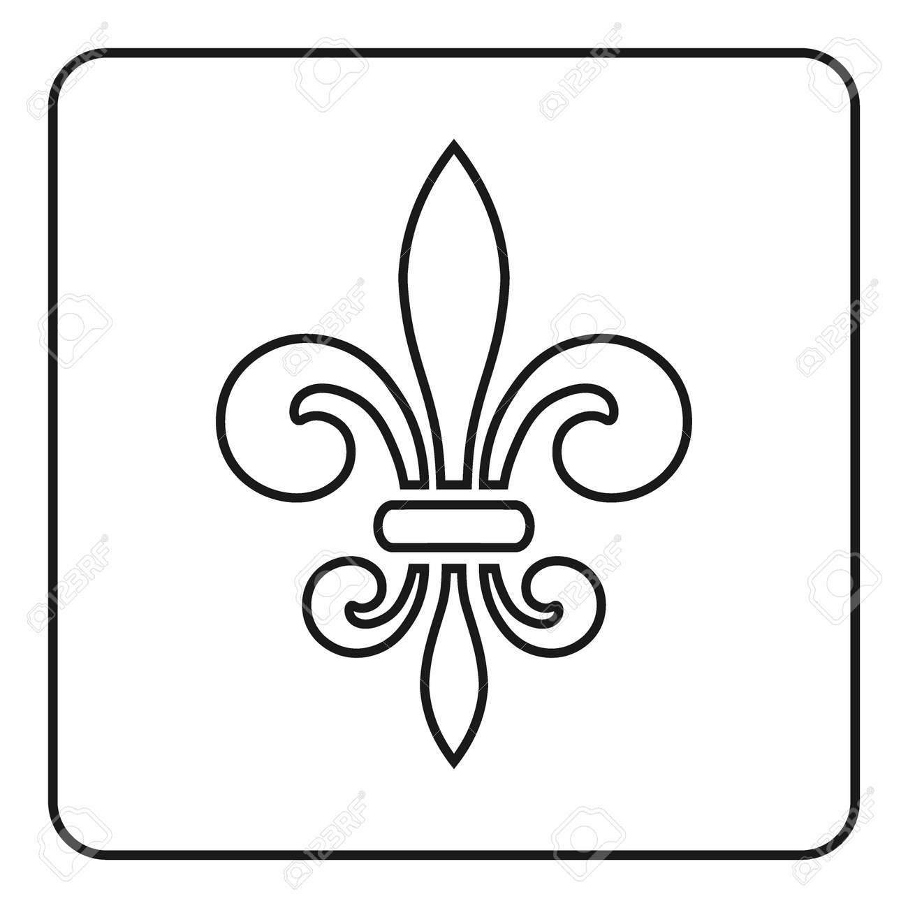 Fleur de lis symbol fleur de lis sign royal french lily fleur de lis symbol fleur de lis sign royal french lily biocorpaavc Gallery