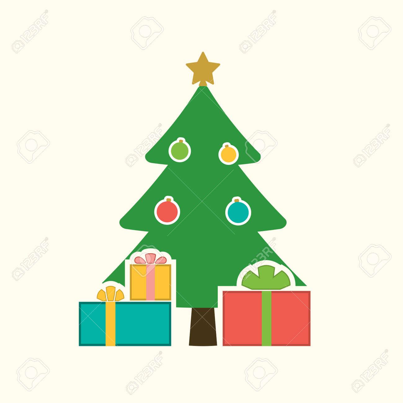 Symbol Weihnachtsbaum.Stock Photo