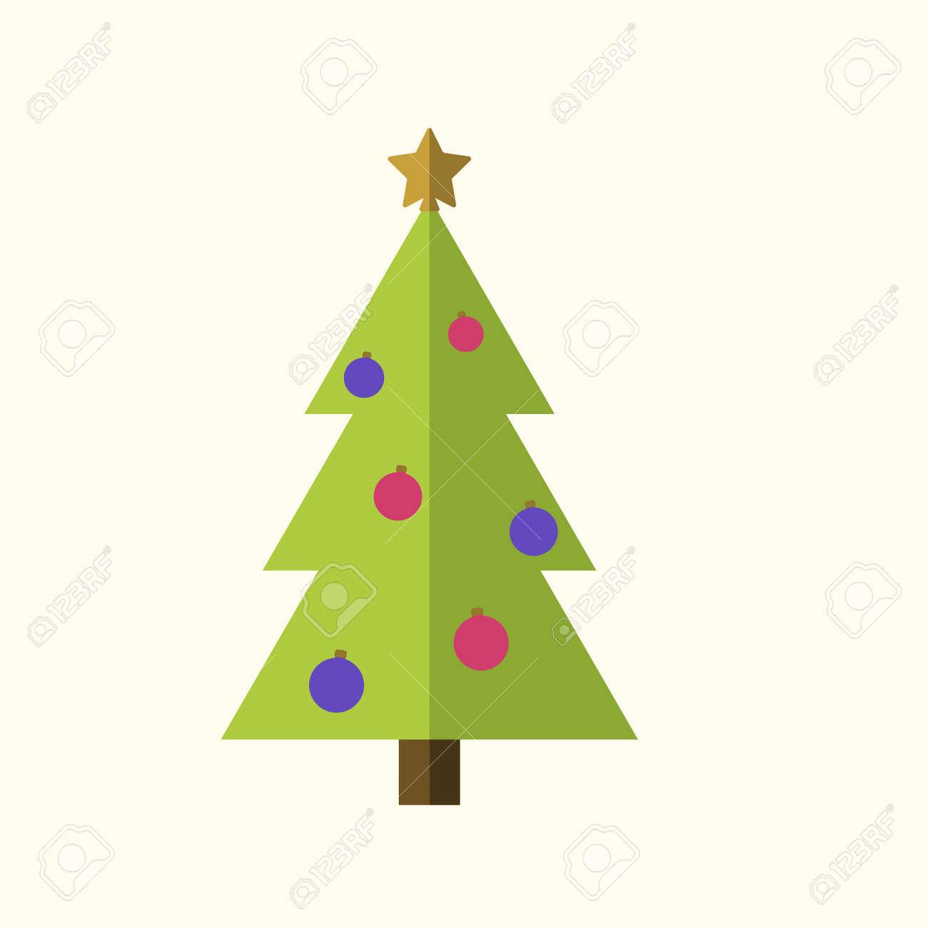 Dibujos De Un Arbol De Navidad Arbol De Navidad Con Velas Dibujo