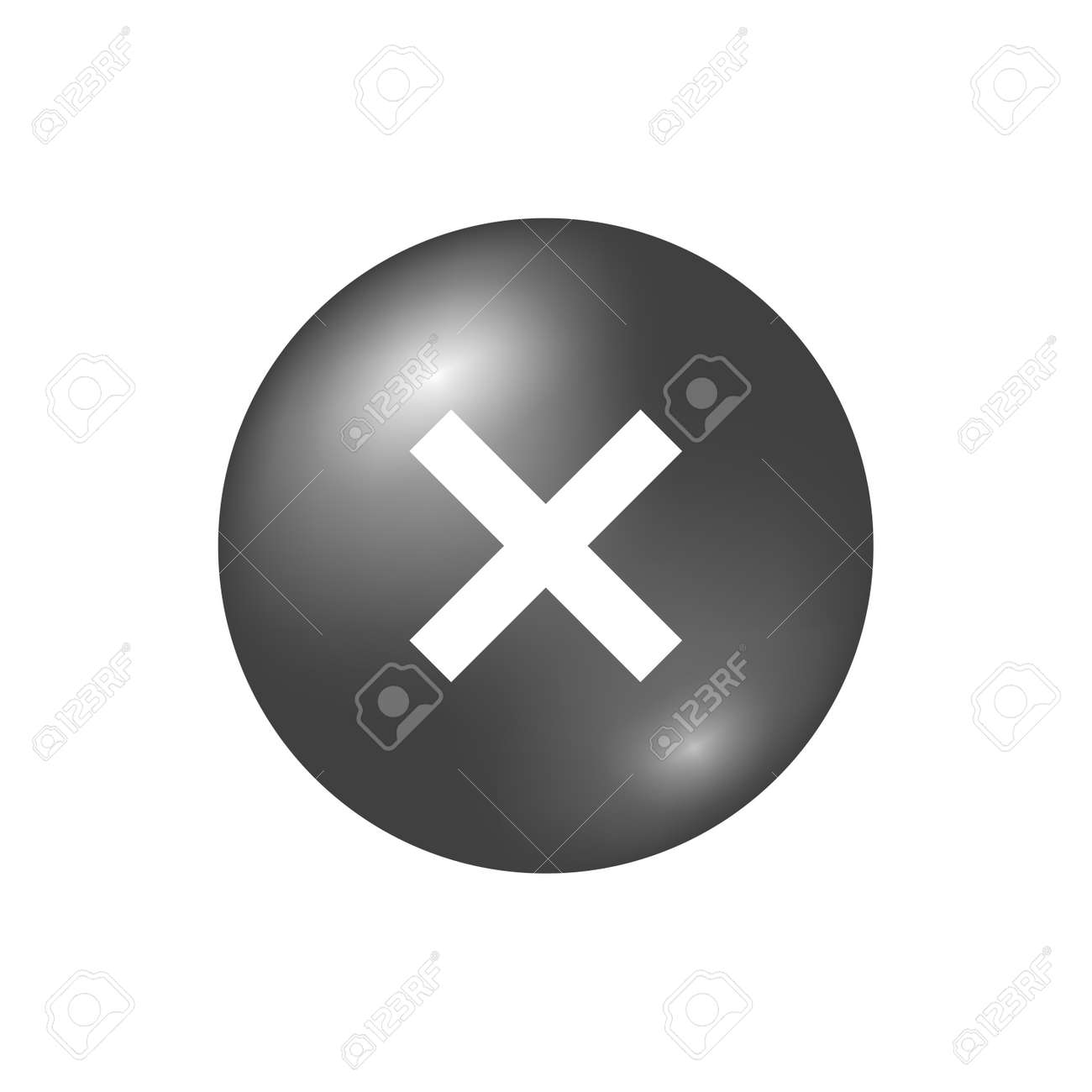 Cross sign gray element silver x icon isolated on white cross sign gray element silver x icon isolated on white background mark graphic design buycottarizona