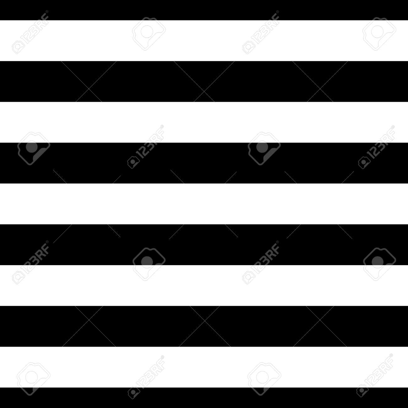 Striped seamless pattern with horizontal line. Black and white fashion graphics design. Strict graphic background. Retro style. Template for wallpaper, wrapping, textile, fabric. Illustration. Stock Photo - 73498651