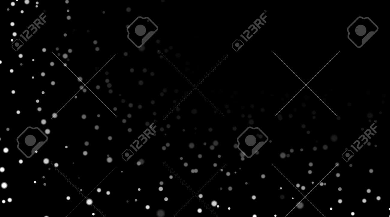 Ciel De Nuit Avec Des étoiles Blanches Sur Fond Noir Modèle Despace Astronomique Sombre Modèle étoilé Galaxy Pour Le Fond Décran Des étoiles