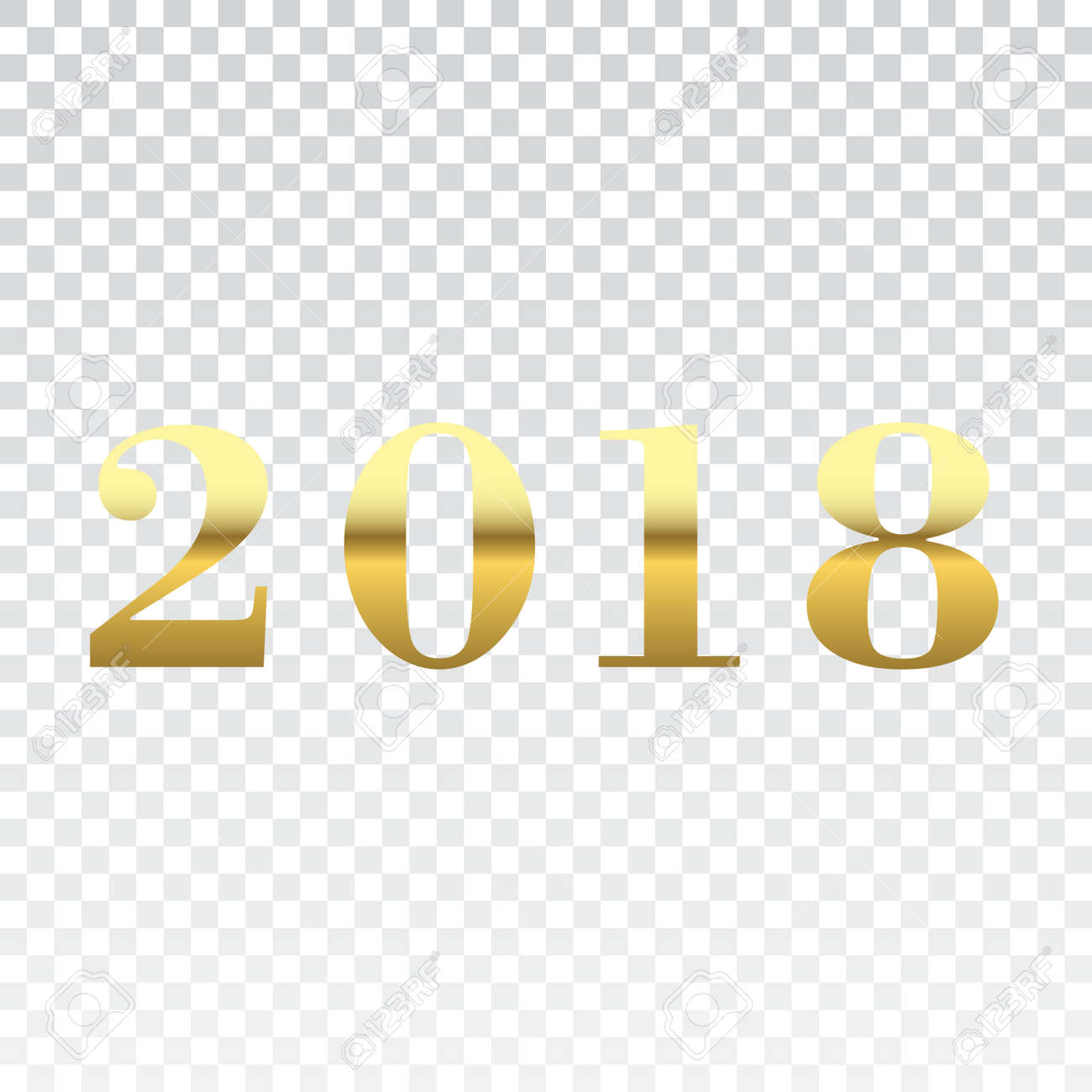Happy New Year Transparent Background 29