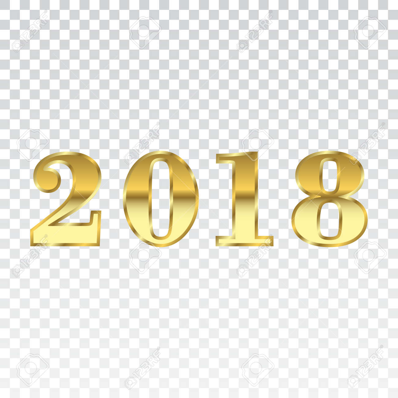 Happy New Year Transparent Background 62