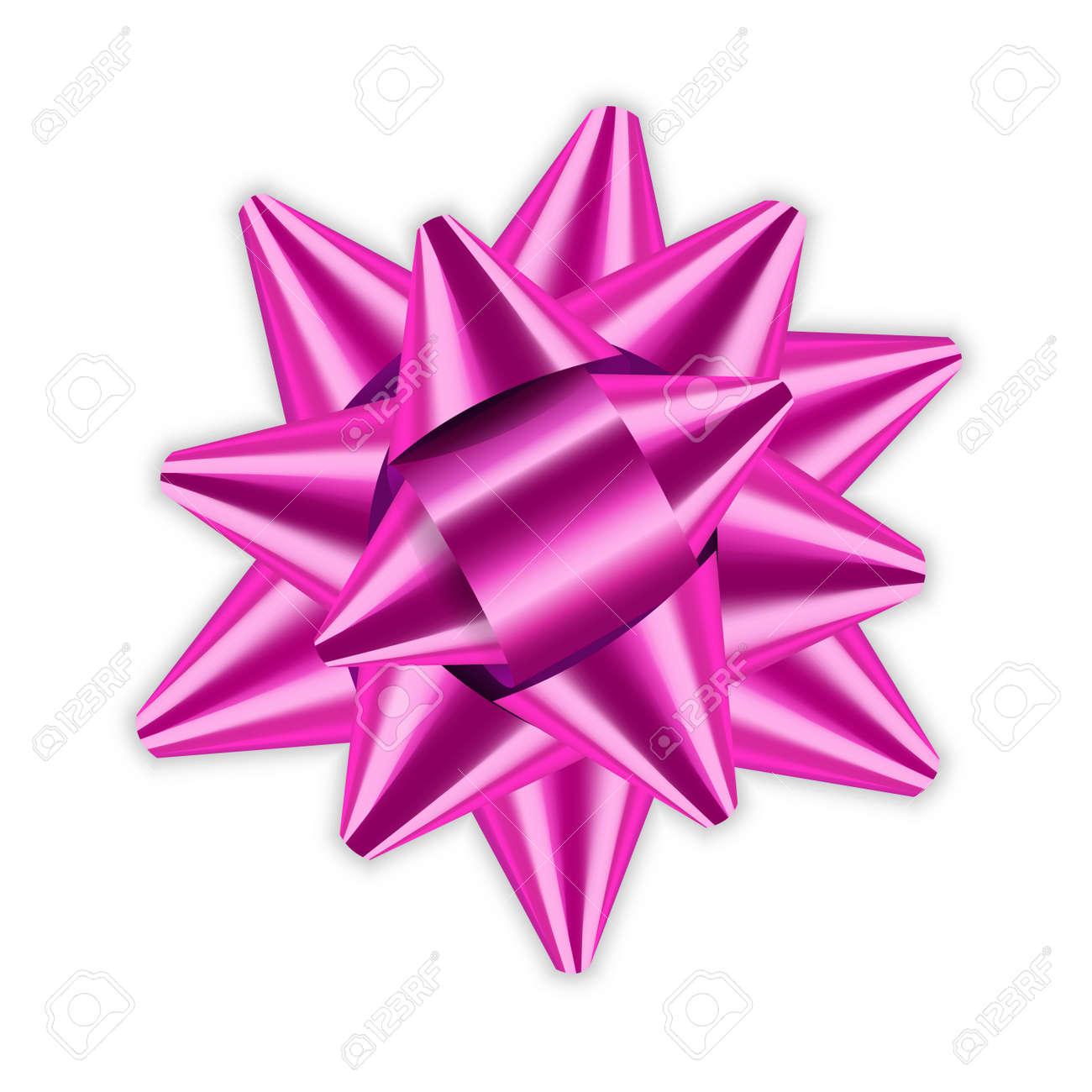 060fe02a66862 Paquete De Elemento De Decoración De Cinta De Lazo De Color Rosa Regalo De  Regalo De Decoración De Satén De Color Brillante