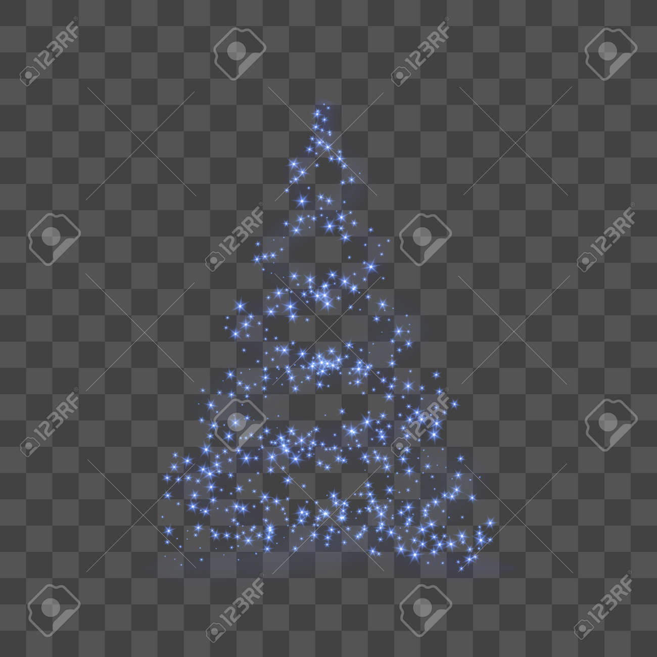 Christmas Tree Transparent Background.Christmas Tree Transparent Background Blue Christmas Tree As