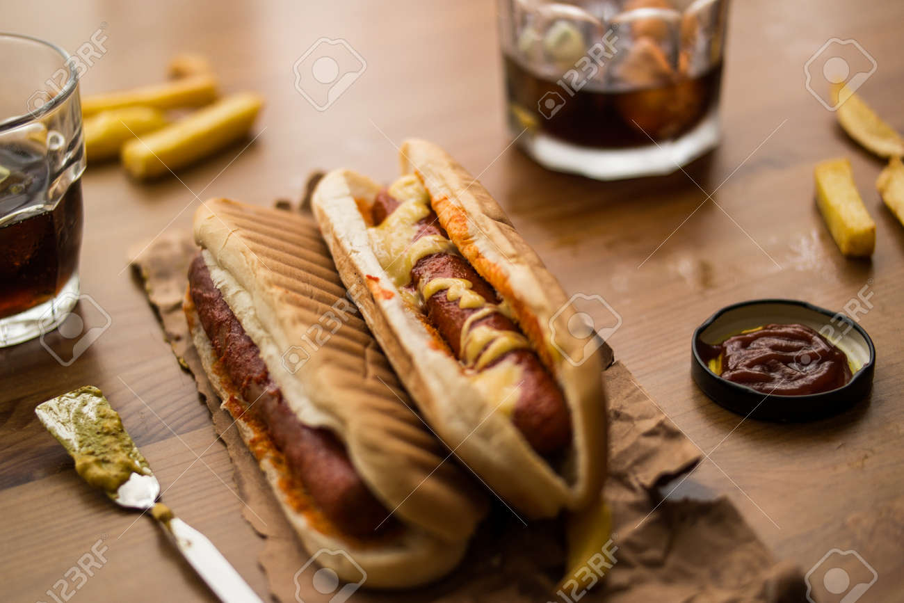Cooked Hot Dog
