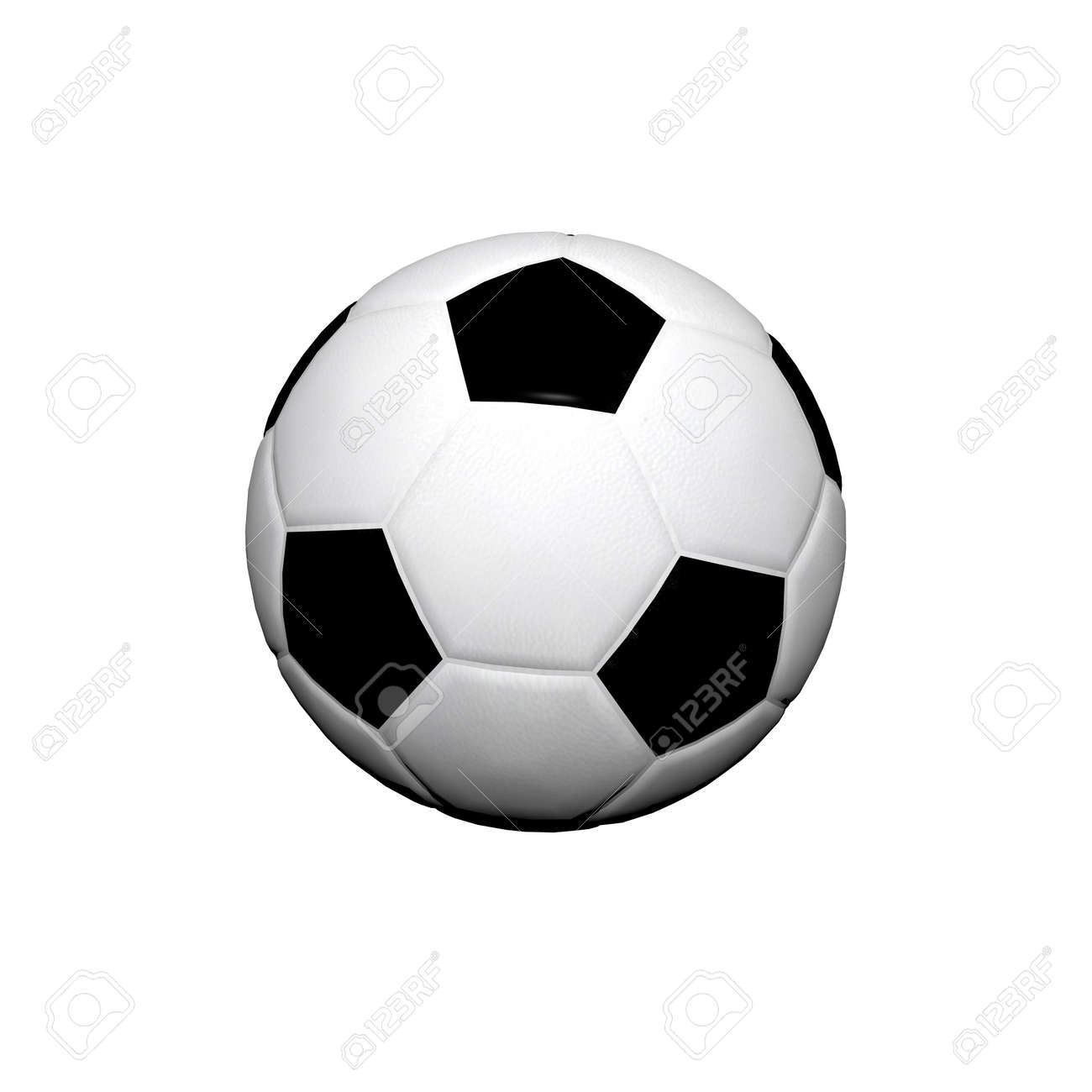 3d Soccer ball Stock Photo - 3879064
