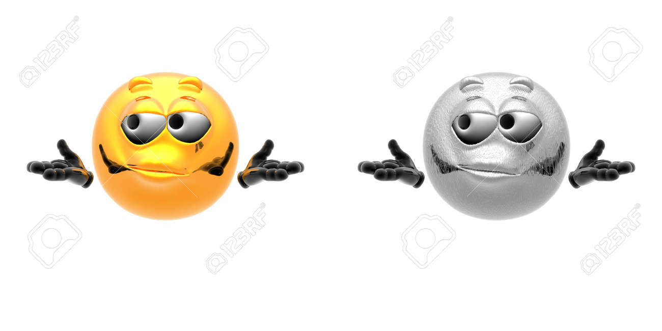 emotion icons isolated on a white Stock Photo - 5973826