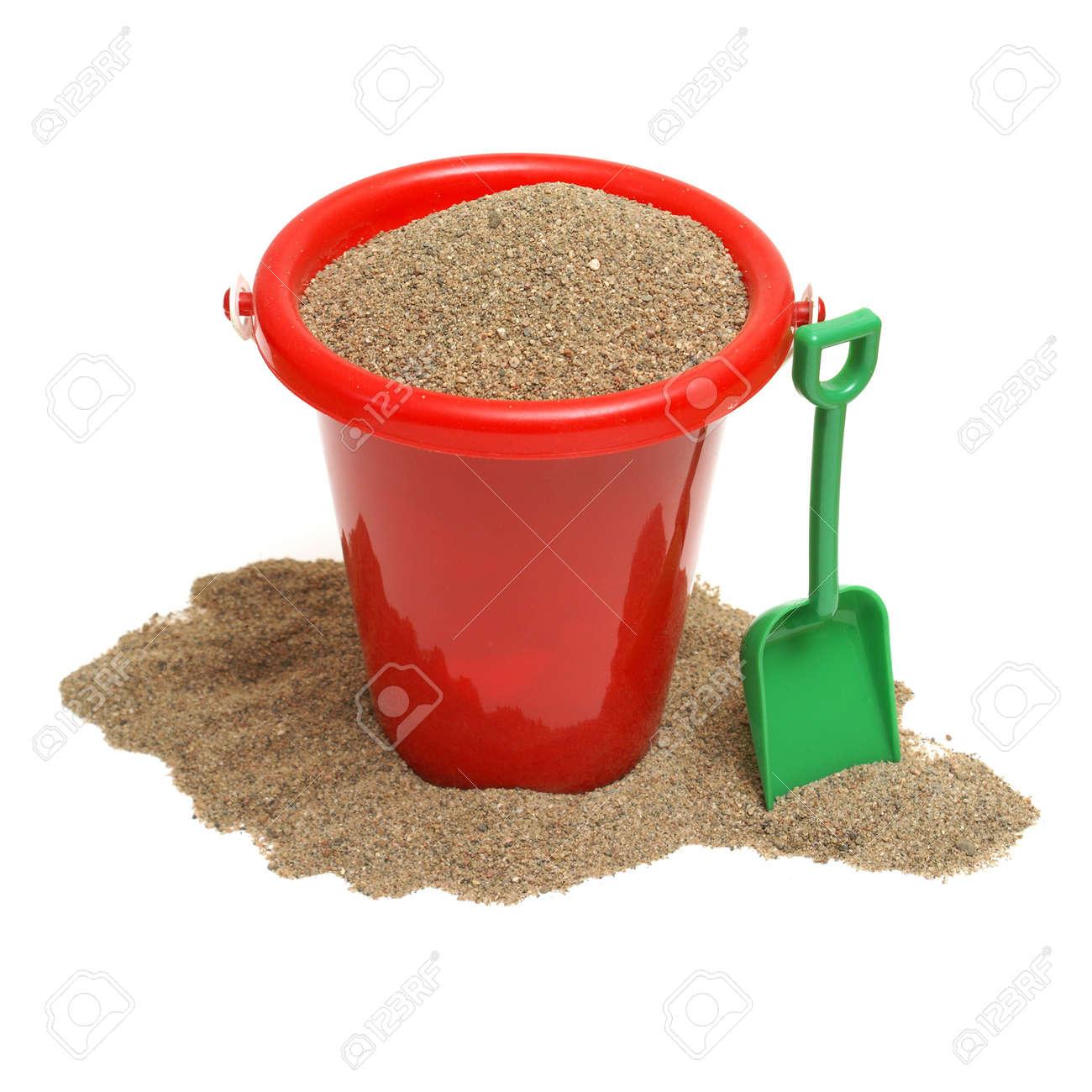 banque dimages un coup isol dun seau de sable pour les enfants le temps de jeu soit en vacances la plage ou tout simplement la maison dans le bac
