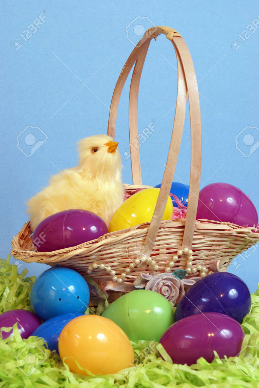 Time To Hide Those Easter Eggs And Fill Your Baskets Stock Photo Picture And Royalty Free Image Image 12892377