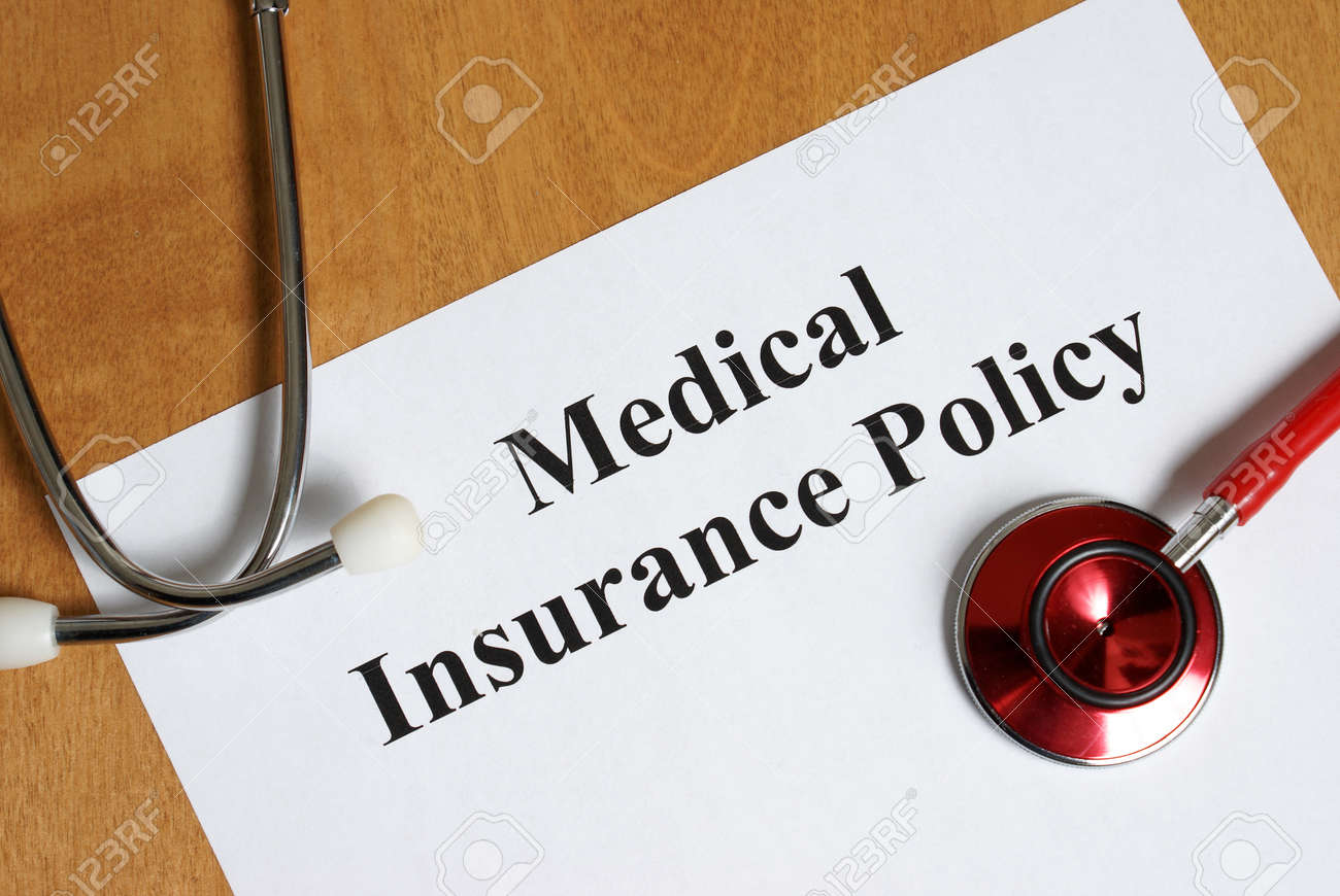 An insurance policy is an asset for anyone taking care of their best interest, their health. Stock Photo - 23098992