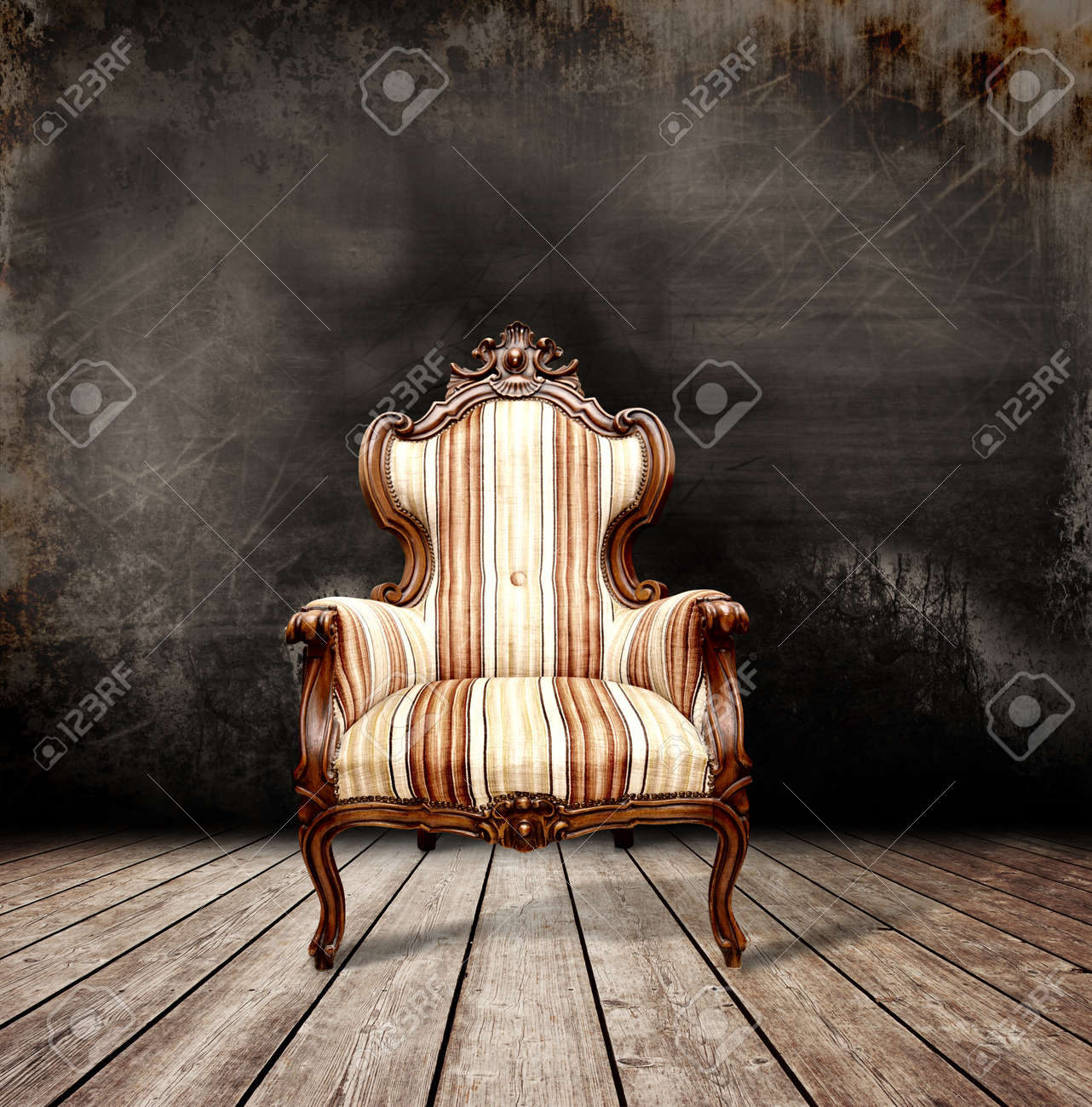 Old sofa in a antique room Stock Photo - 9825315