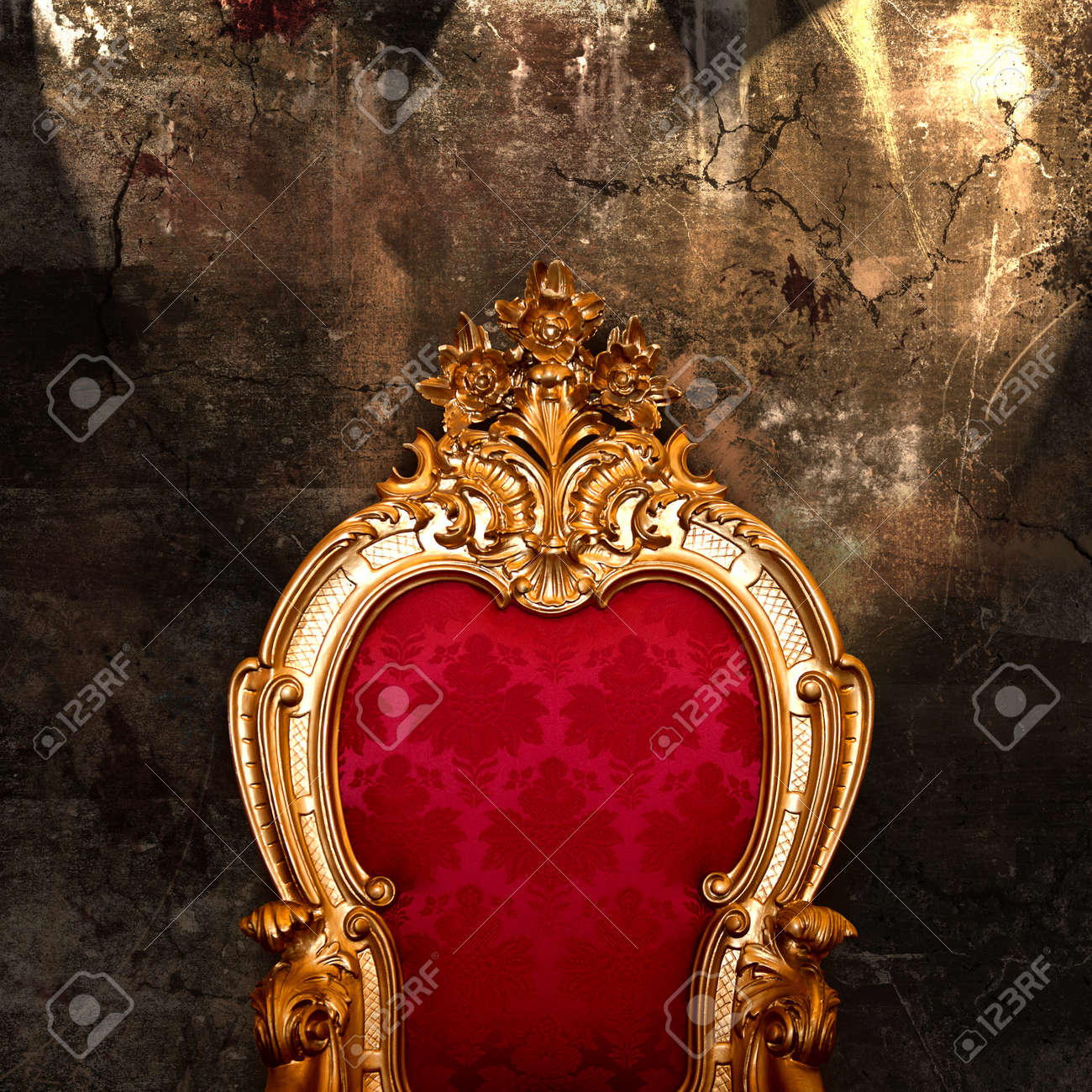 Vintage armchair Stock Photo - 12703812