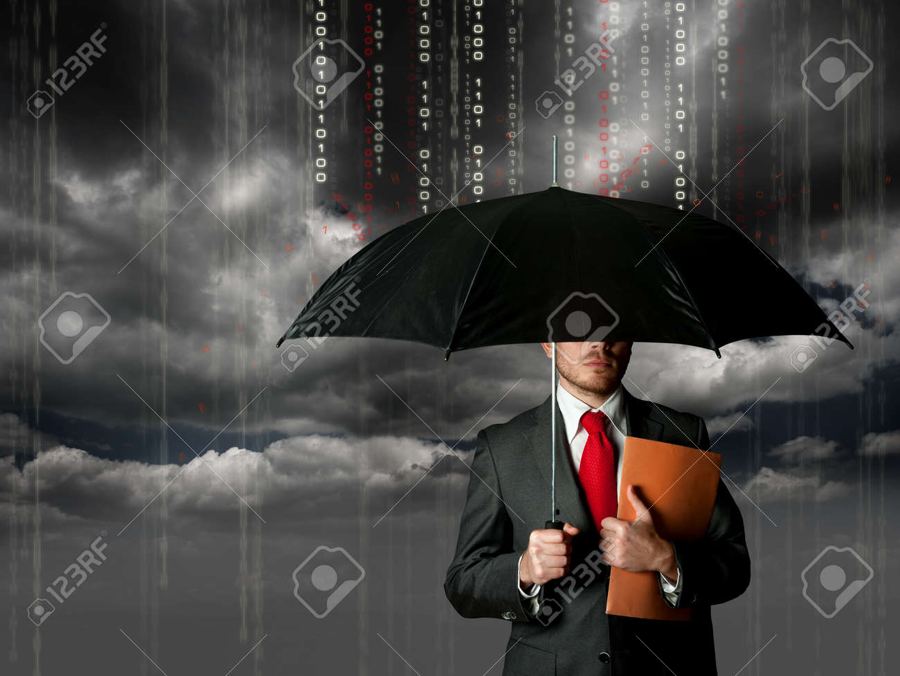 Antivirus and firewall protection concept Stock Photo - 12918516