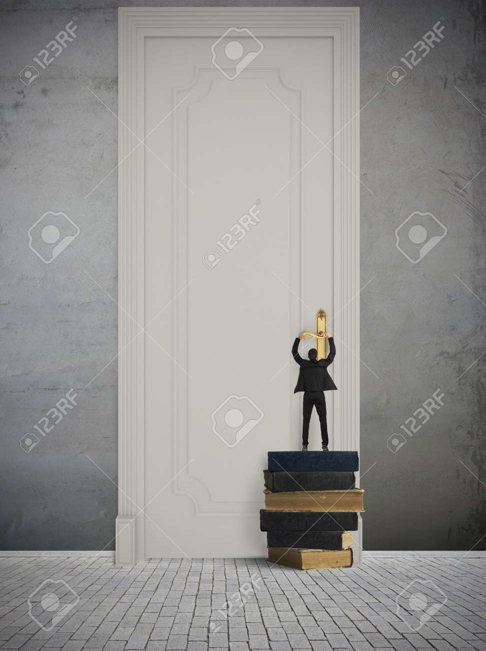 Concept of big opportunity in business Stock Photo - 20871702