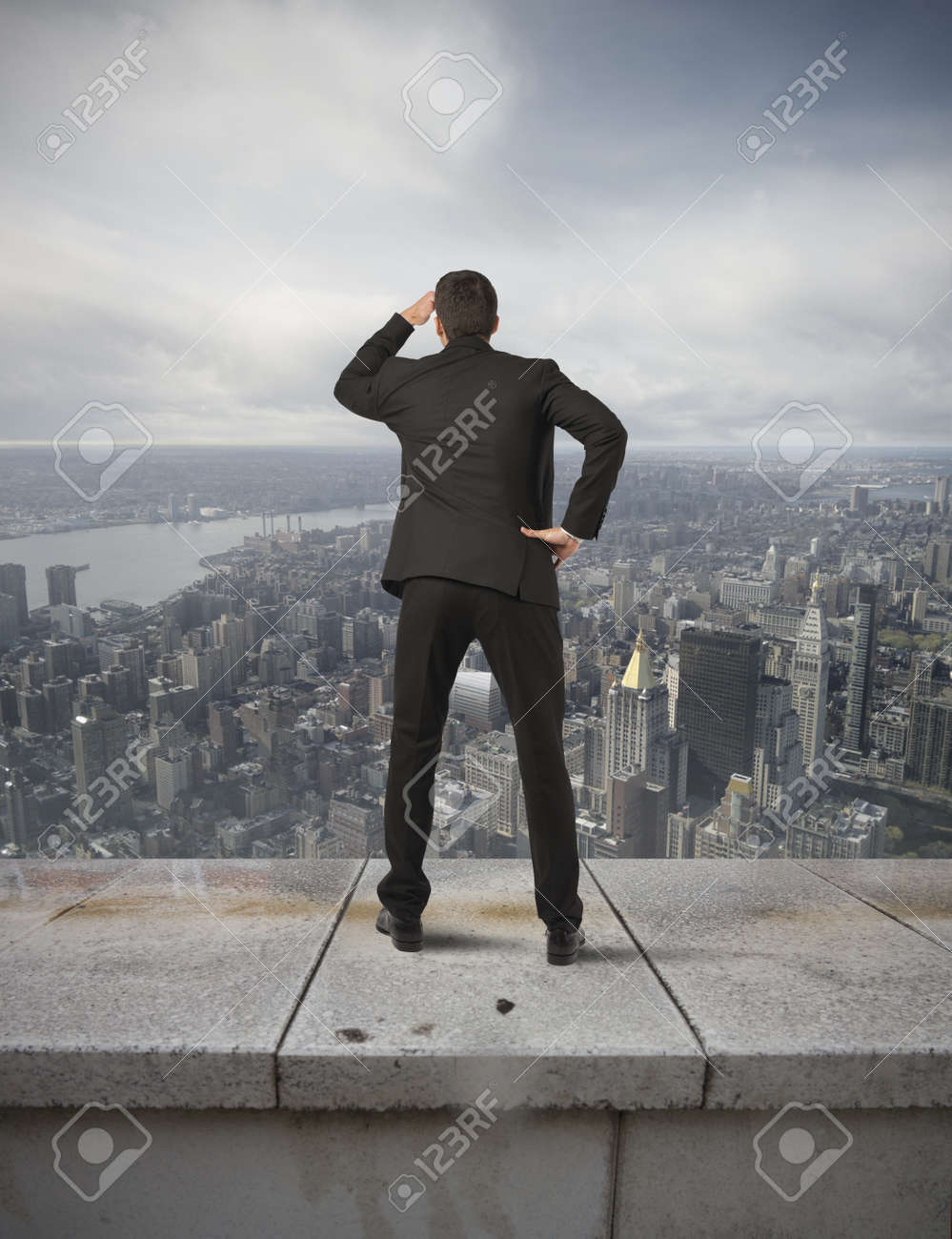Concept of crisis and future in the business Stock Photo - 21393790