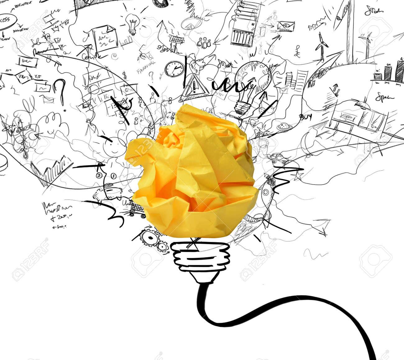 nouvel an idée Concept De La Nouvelle Idée Et Le Concept De L'innovation Banque D  nouvel an idée