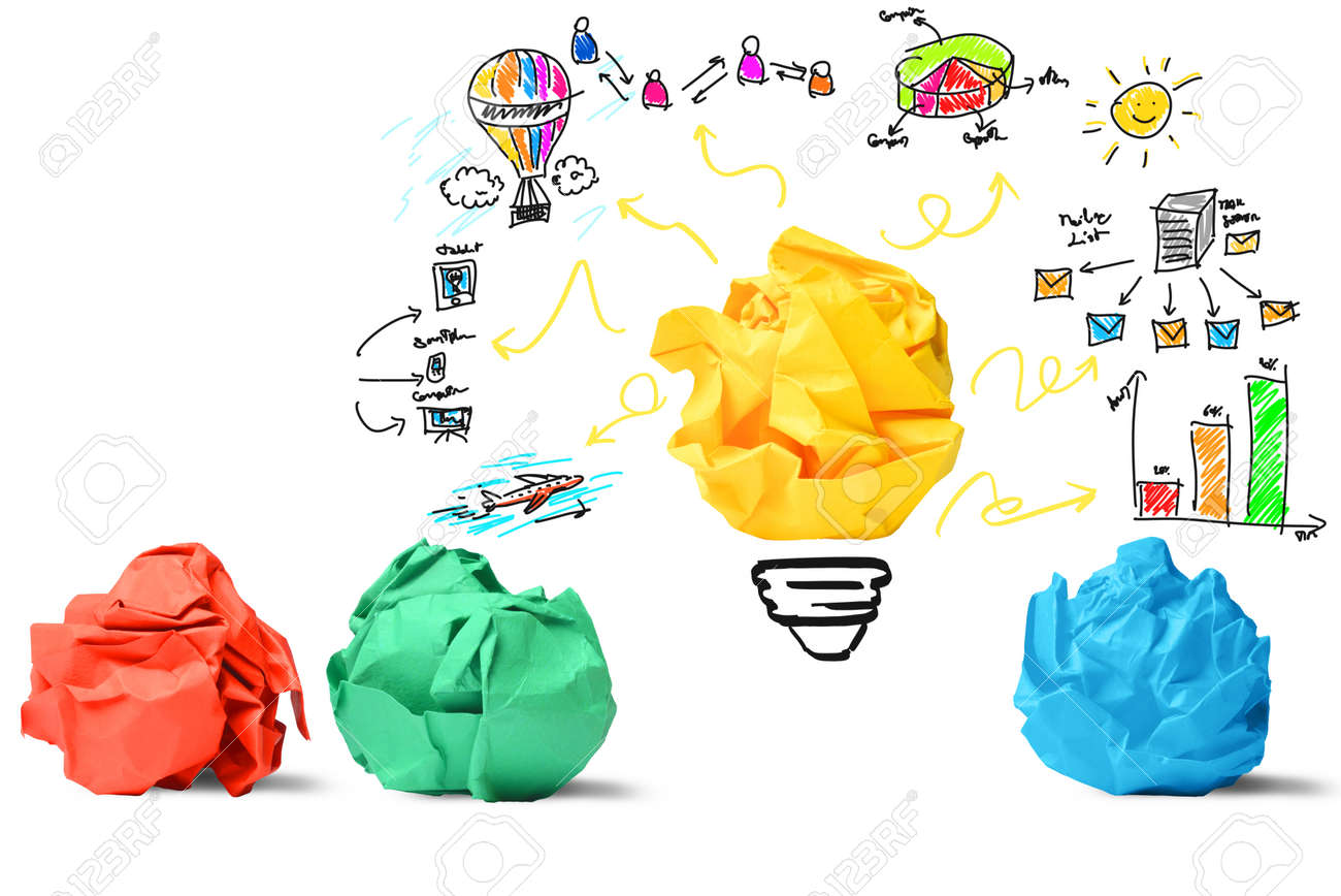 Concept of new idea and innovation concept - 28506840