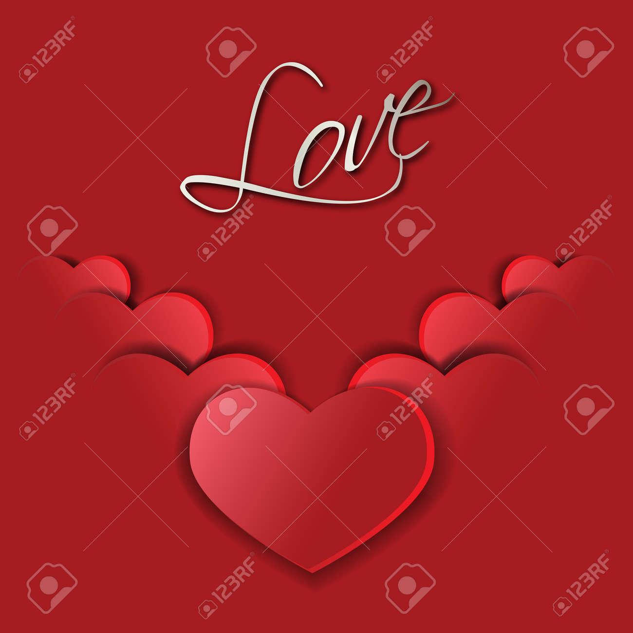 Big red hearts symbols of st valentine royalty free cliparts big red hearts symbols of st valentine stock vector 35378406 biocorpaavc