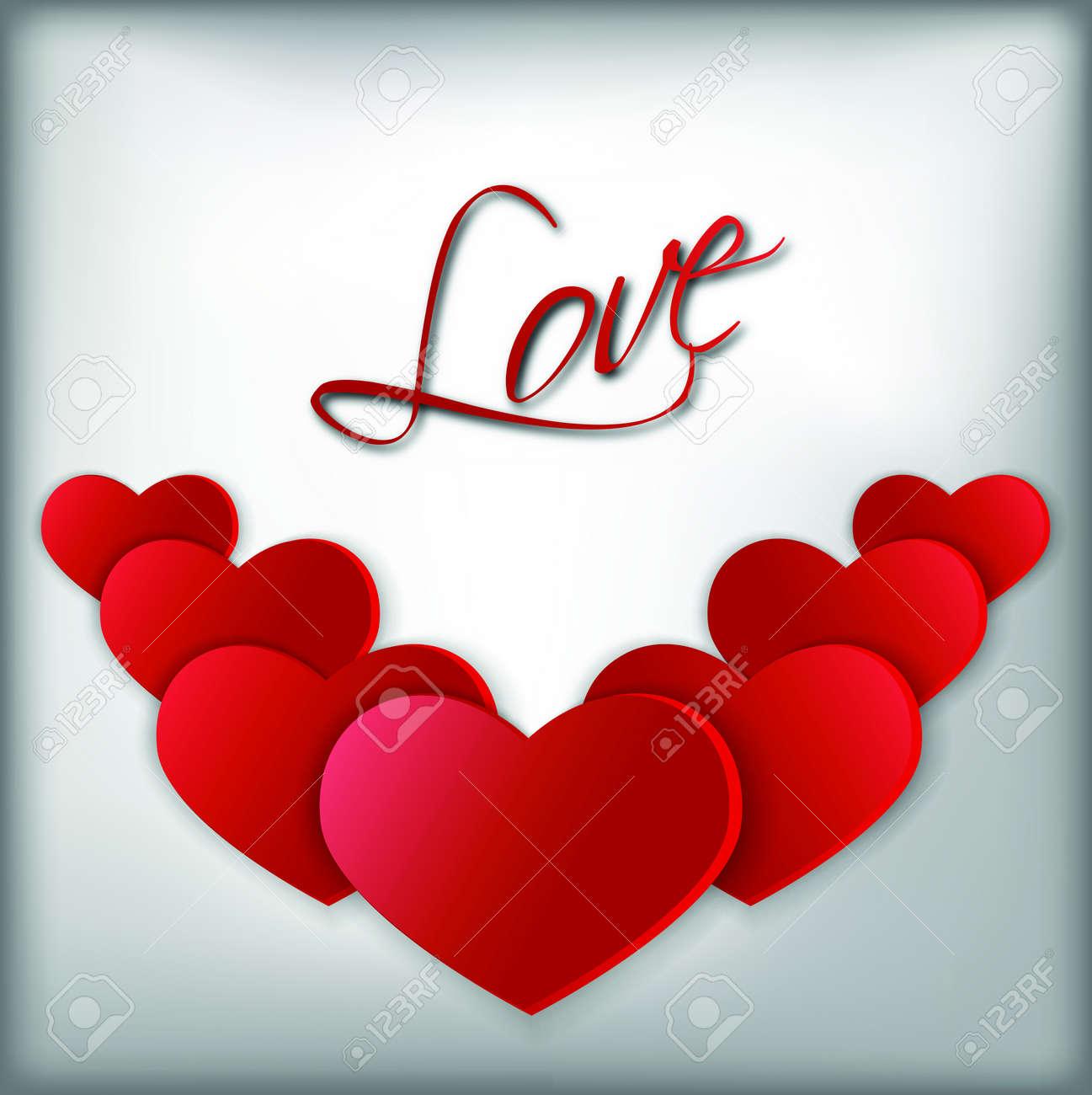 Big red hearts symbols of st valentine royalty free cliparts big red hearts symbols of st valentine stock vector 35378442 biocorpaavc