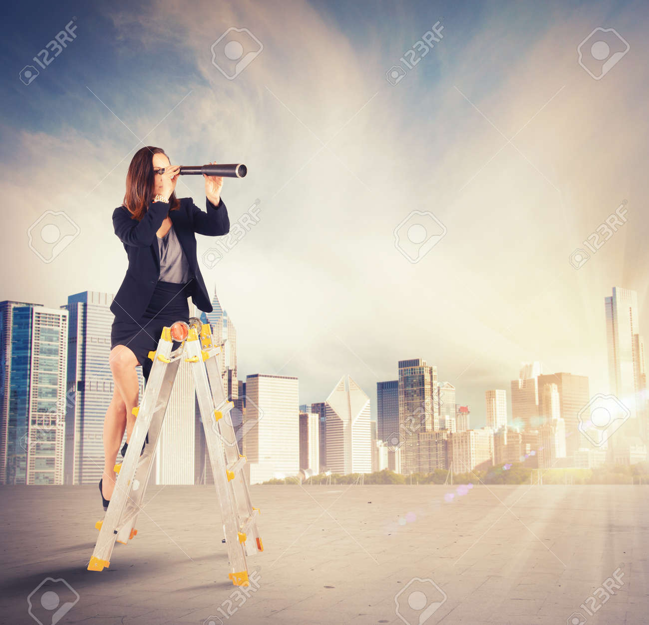 enterprising businessw looking for new job goals stock photo enterprising businessw looking for new job goals stock photo 38266878