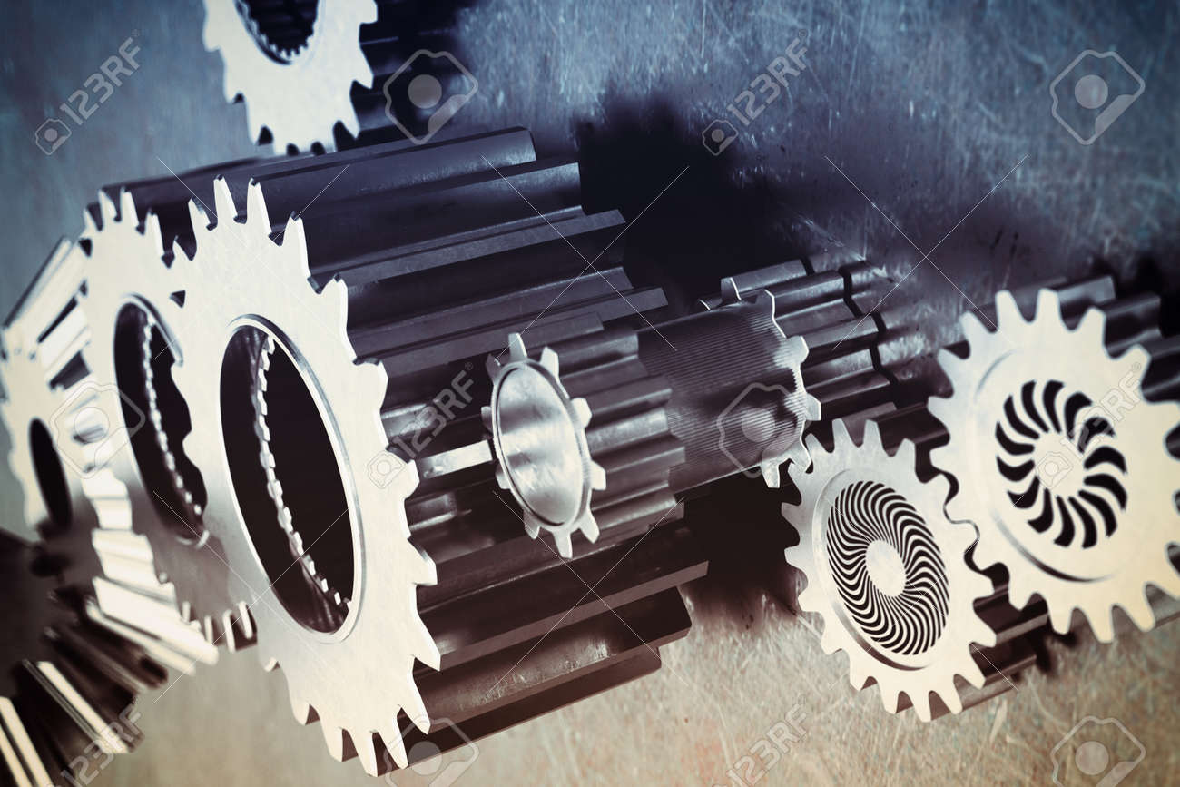 System of a mechanism gear stuck together - 51891457