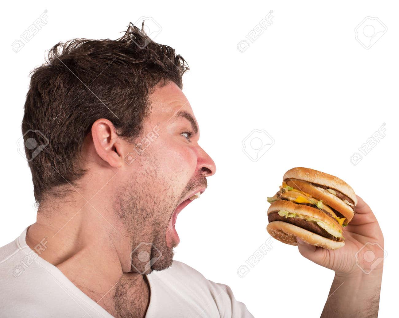 Hungry man - 126484851