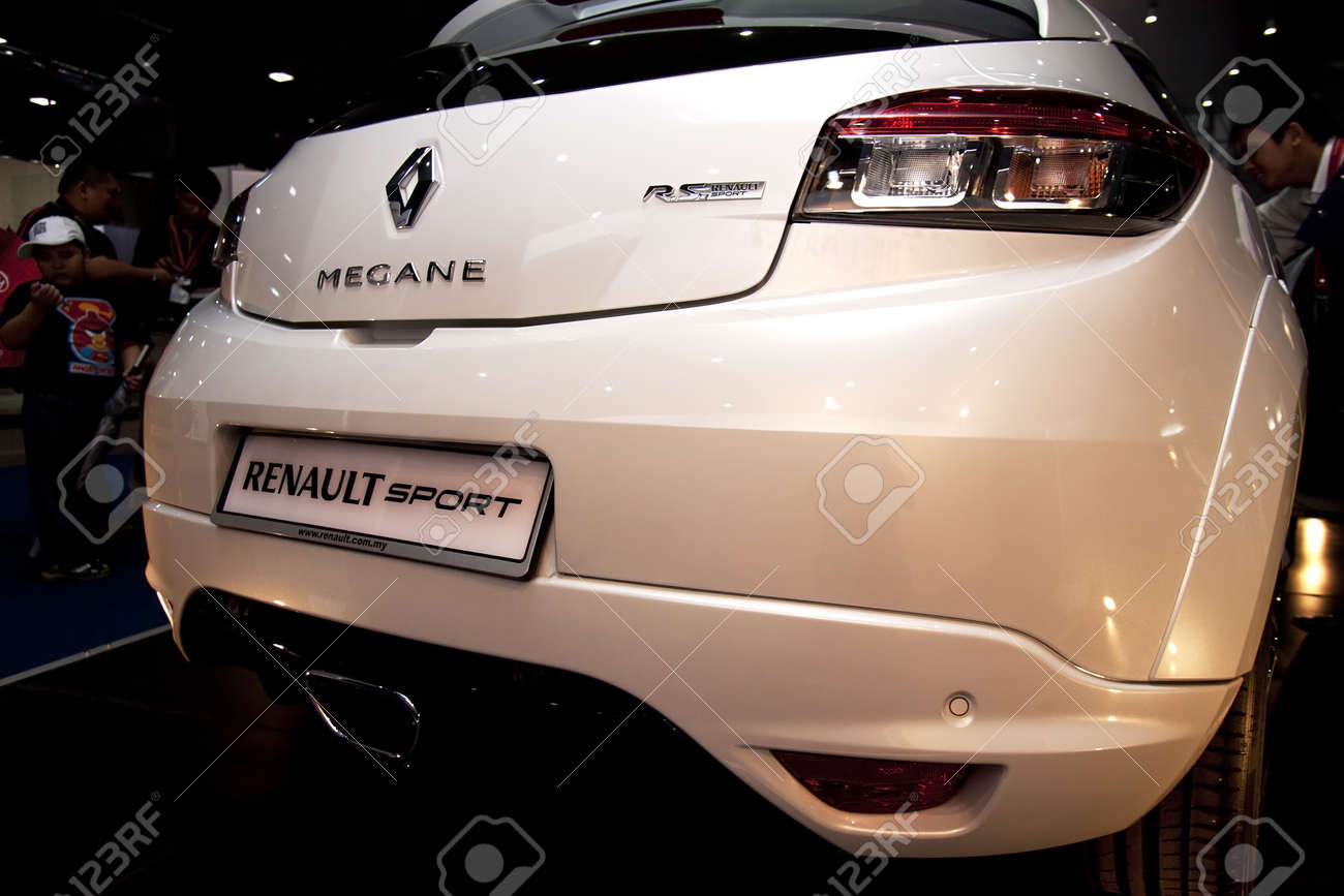 Kuala Lumpur, Malaysia - November 12, 2011 - Renault Megane RS were displayed at the Car Of The Year Autoshow 2011. Stock Photo - 11186265