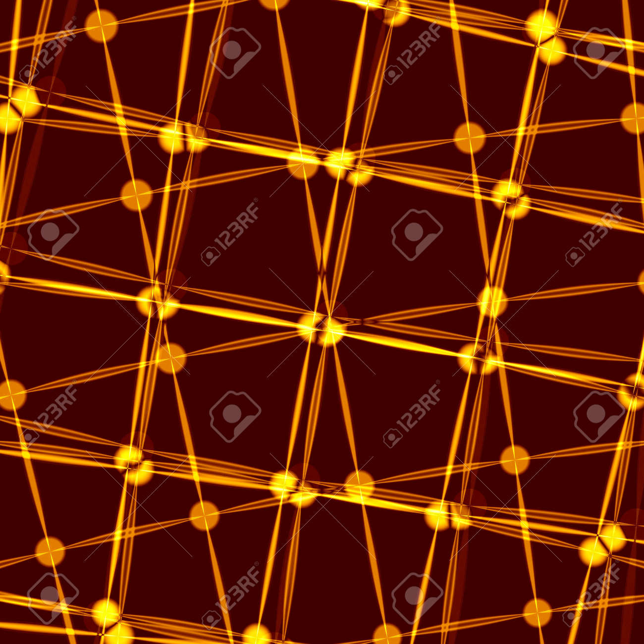 golden abstract background Stock Photo - 6468455