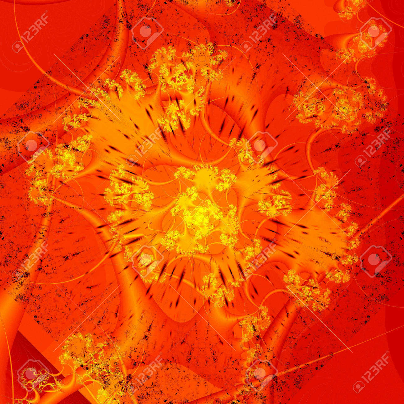 computer generated abstract wallpaper Stock Photo - 6476944