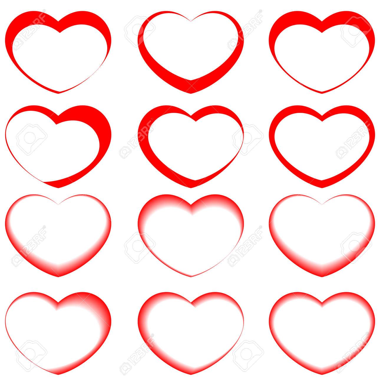 Vector hearts symbols royalty free cliparts vectors and stock vector hearts symbols stock vector 11918696 biocorpaavc