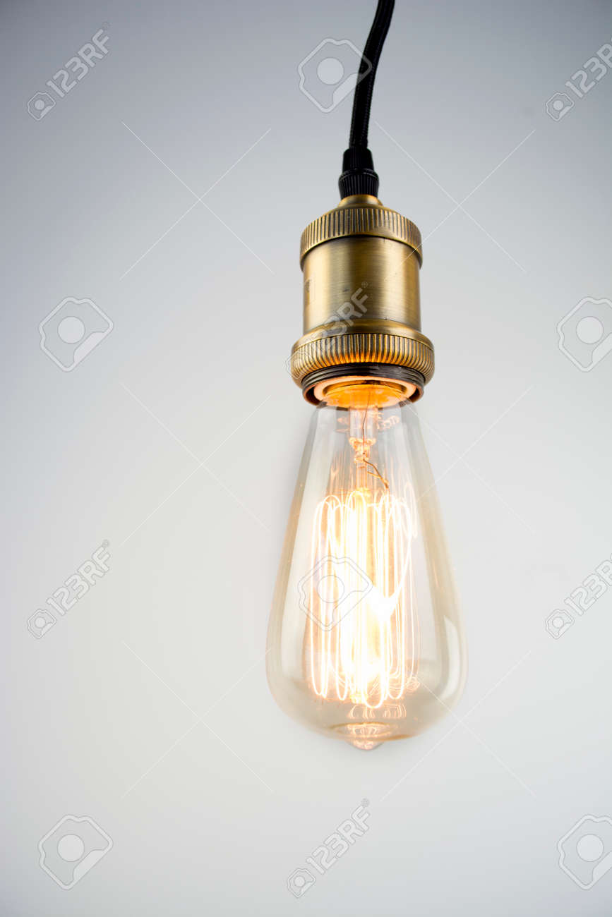 Edison Bulb Pendant Lamp Stock Photo Picture And Royalty Free Image Image 57646902