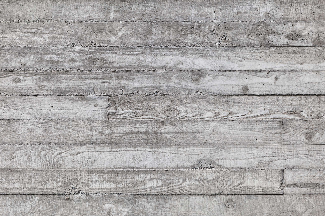 wall made of concrete with wood texture texture of wooden formwork