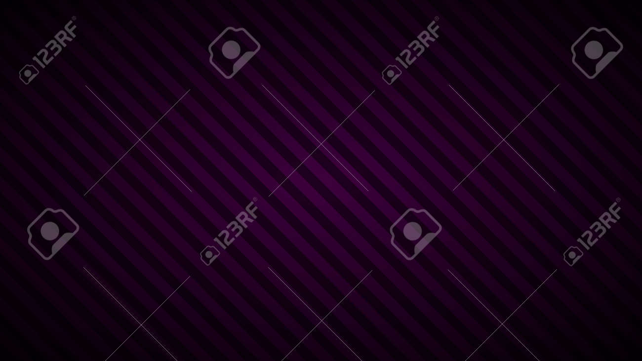 Abstract background of inclined stripes in dark purple colors - 154923356
