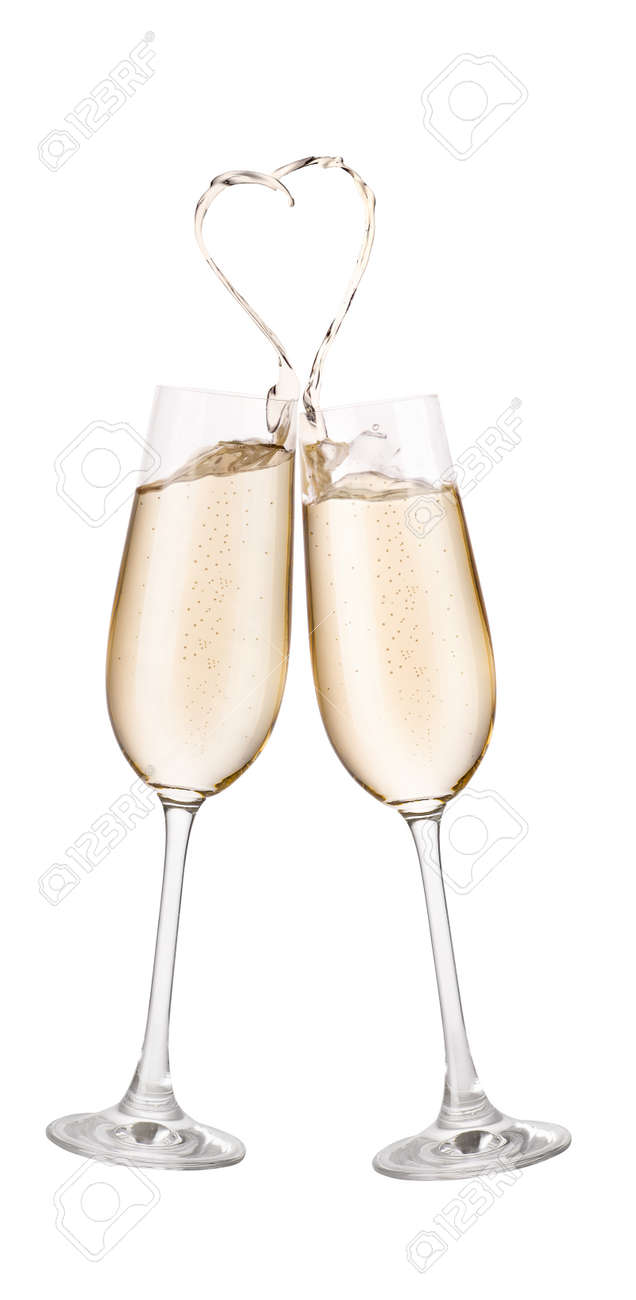 champagne glasses making toast stock photo picture and royalty free