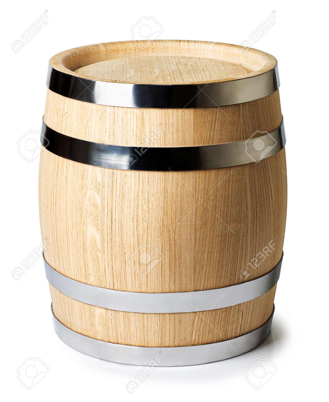 wine barrel isolated - 139394059