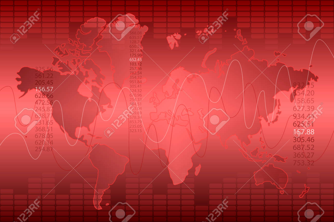 Red graph and world map abstract background royalty free cliparts red graph and world map abstract background stock vector 47192683 gumiabroncs Choice Image