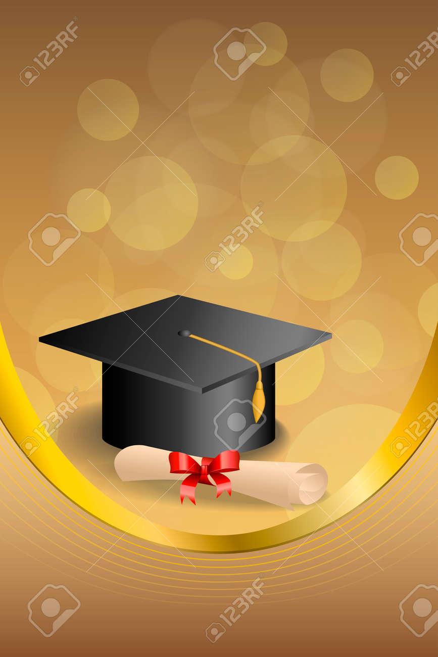 Resumen De Antecedentes De Color Beige Educación Graduación Del ...