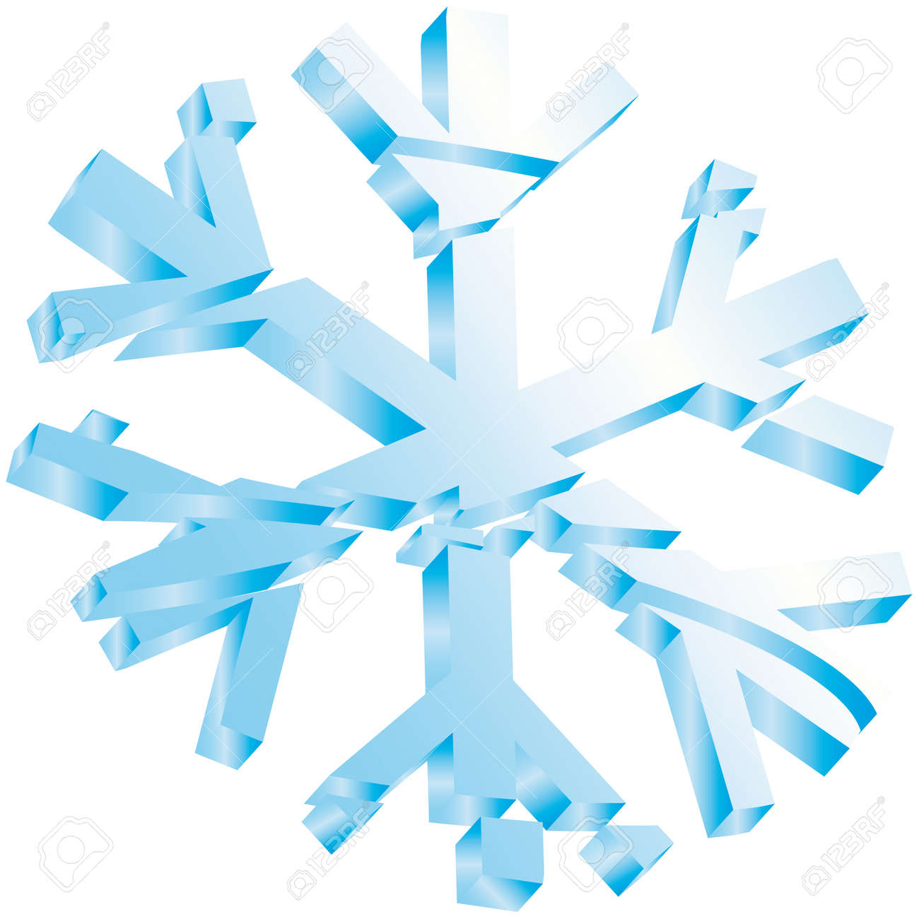 Fabuleux Stelle Di Neve Ghiaccio Natale Clipart Royalty-free, Vettori E  XR66