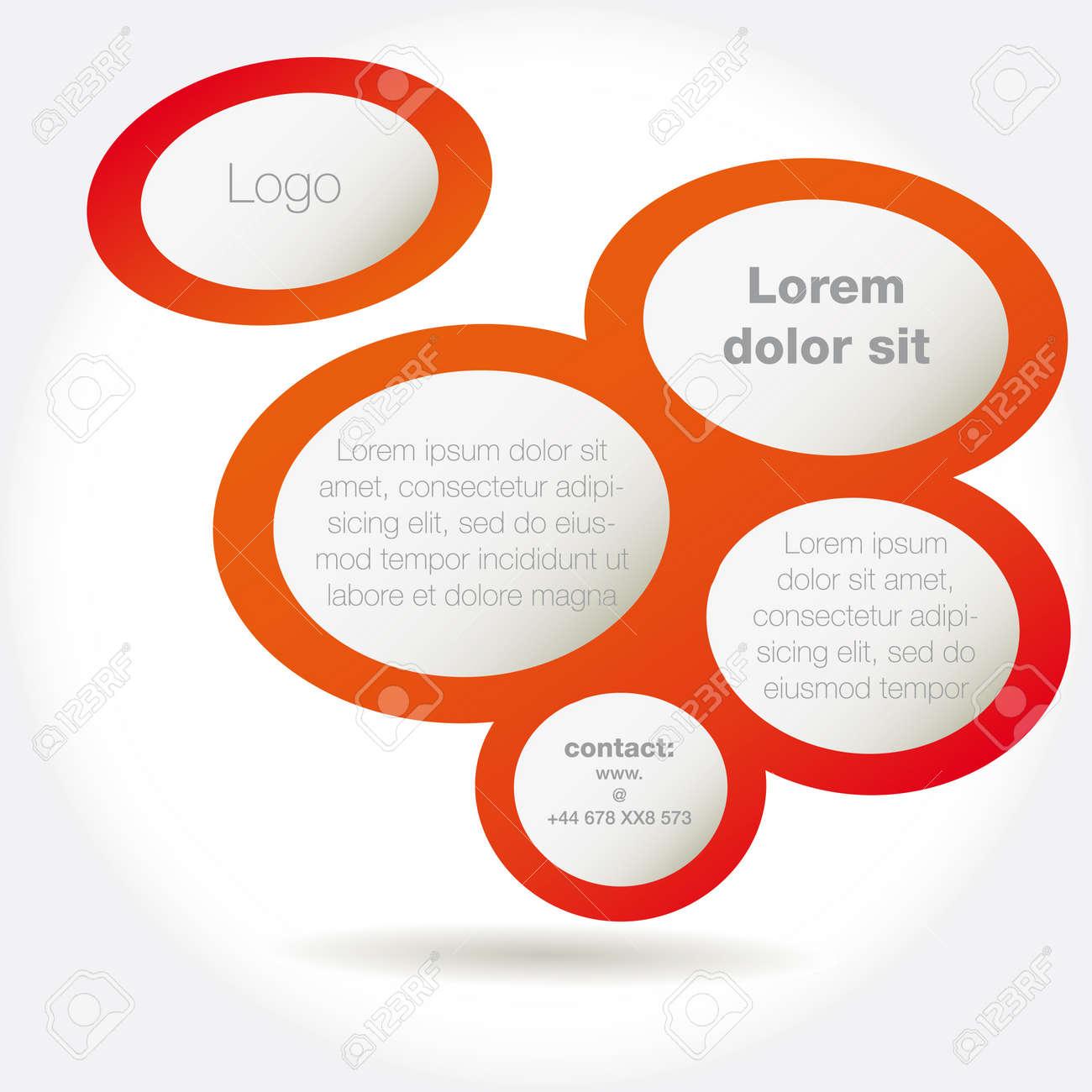 Abstract design bubble, vector Stock Vector - 13049841