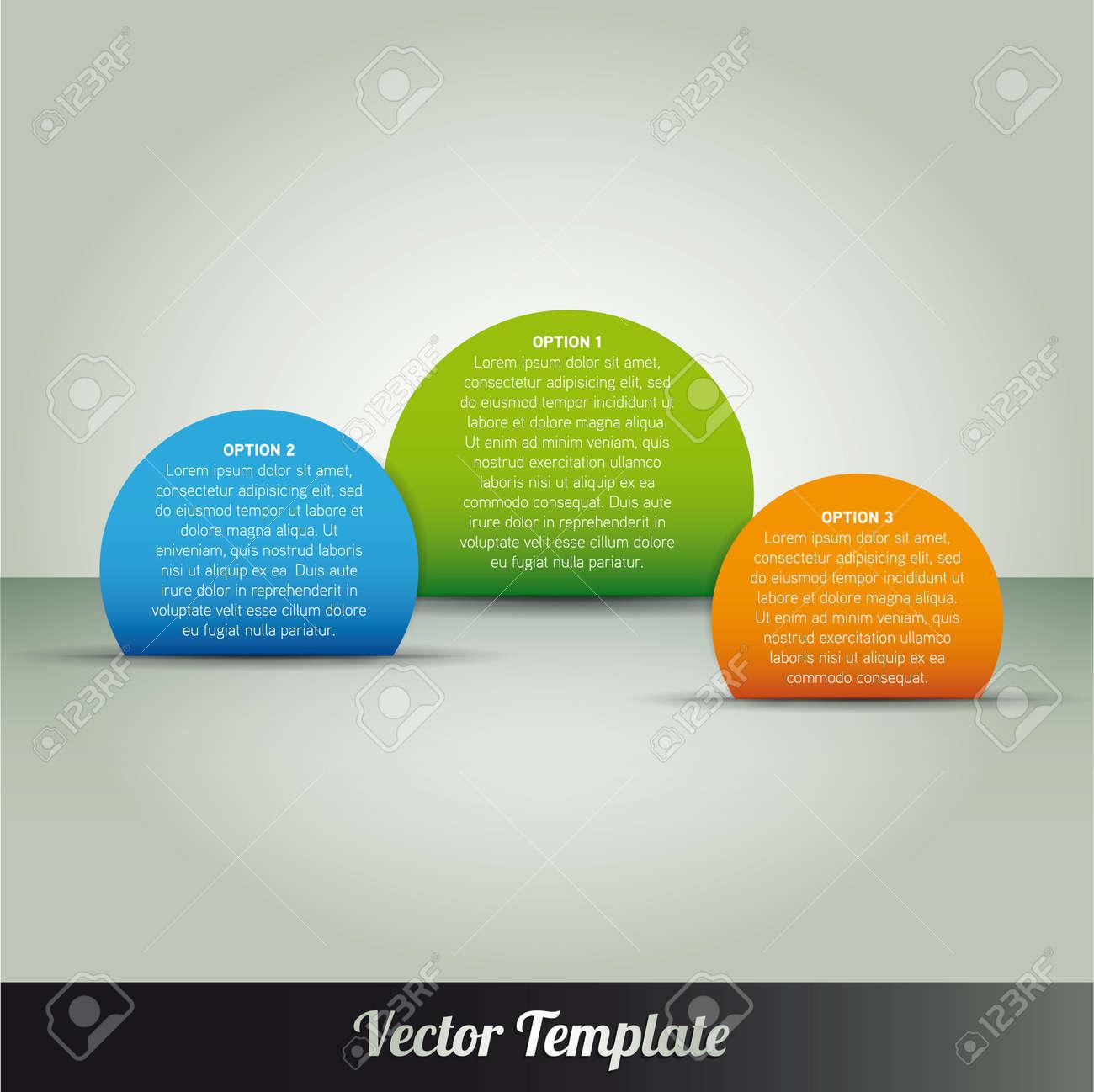 Template Stock Vector - 17798187