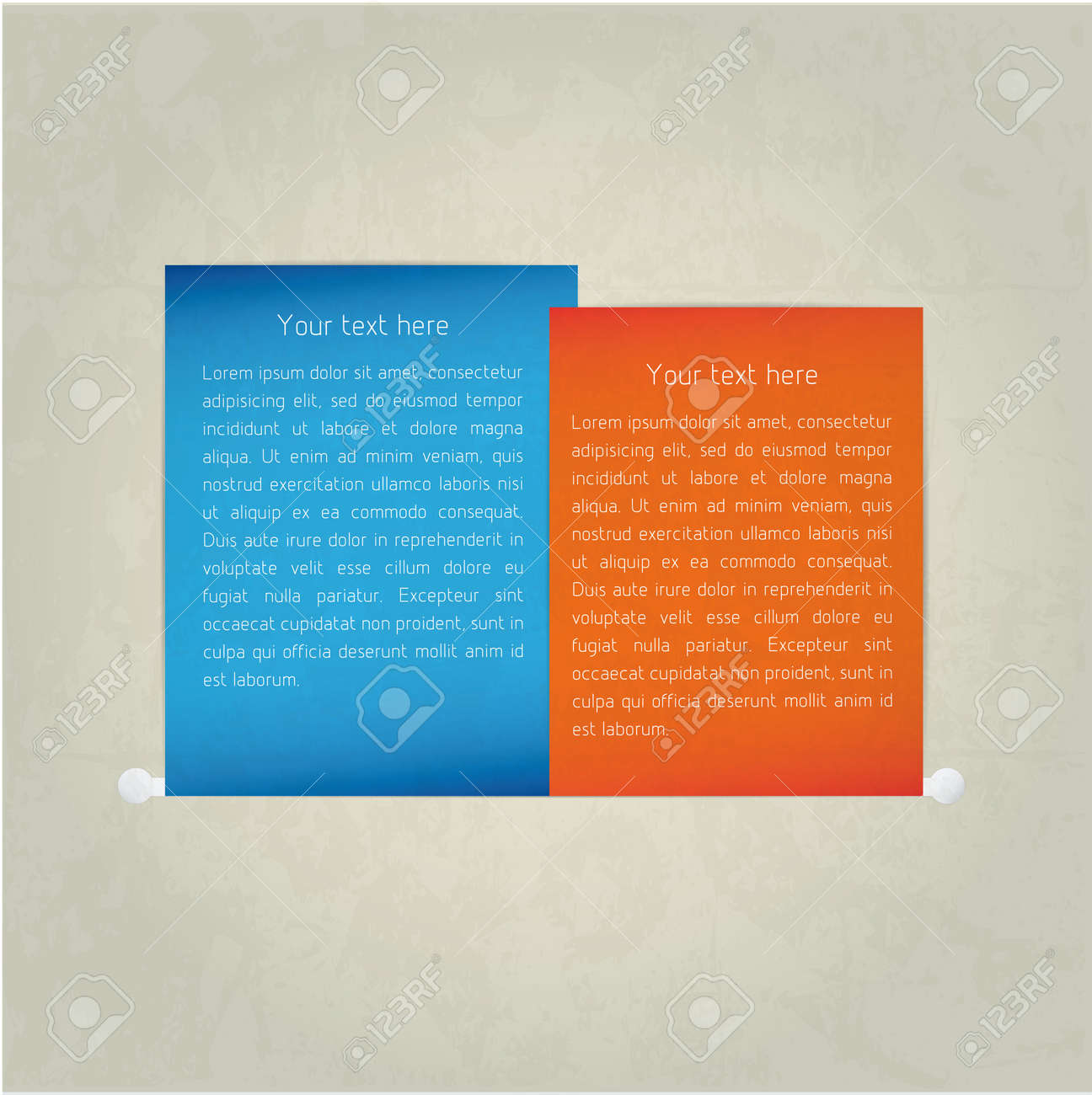 Paper note. Vector Stock Vector - 18976464
